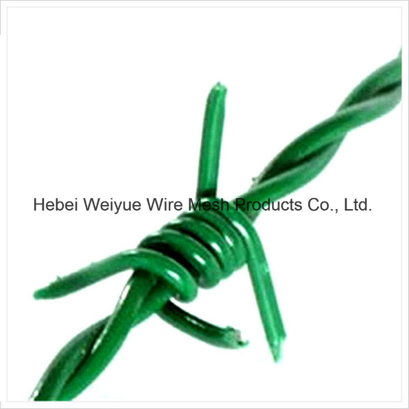 China Hot Galvanized Rust-Proof Stainless Steel Barbed Wire for Farm ...