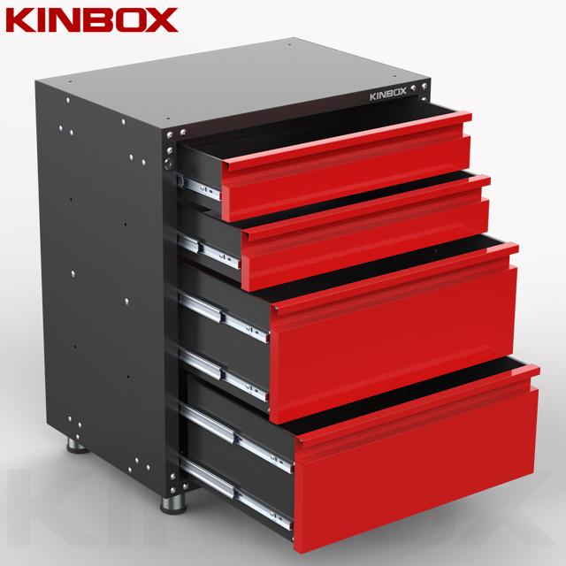 Base 4 Drawer Tool Cabinet Garage Unit