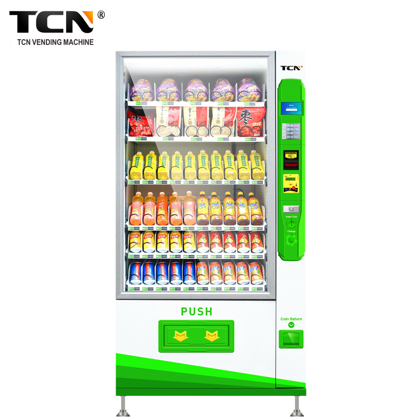 Tcn Full Automatic Coin Operated Water Dispenser Vending Machine for Bottles with Advertising Purpose pictures & photos