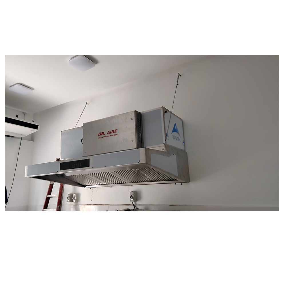 China Dr Aire Range Hood Filter 2020 Trend For Commercial Kitchen China Range Hood Filter And Portable Electrostatic Precipitator Price