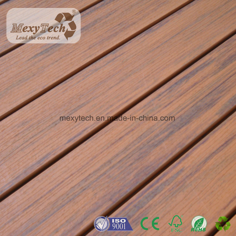 China Wpc Wood Plastic Composite Decking Floor With Grain Texture Engineered