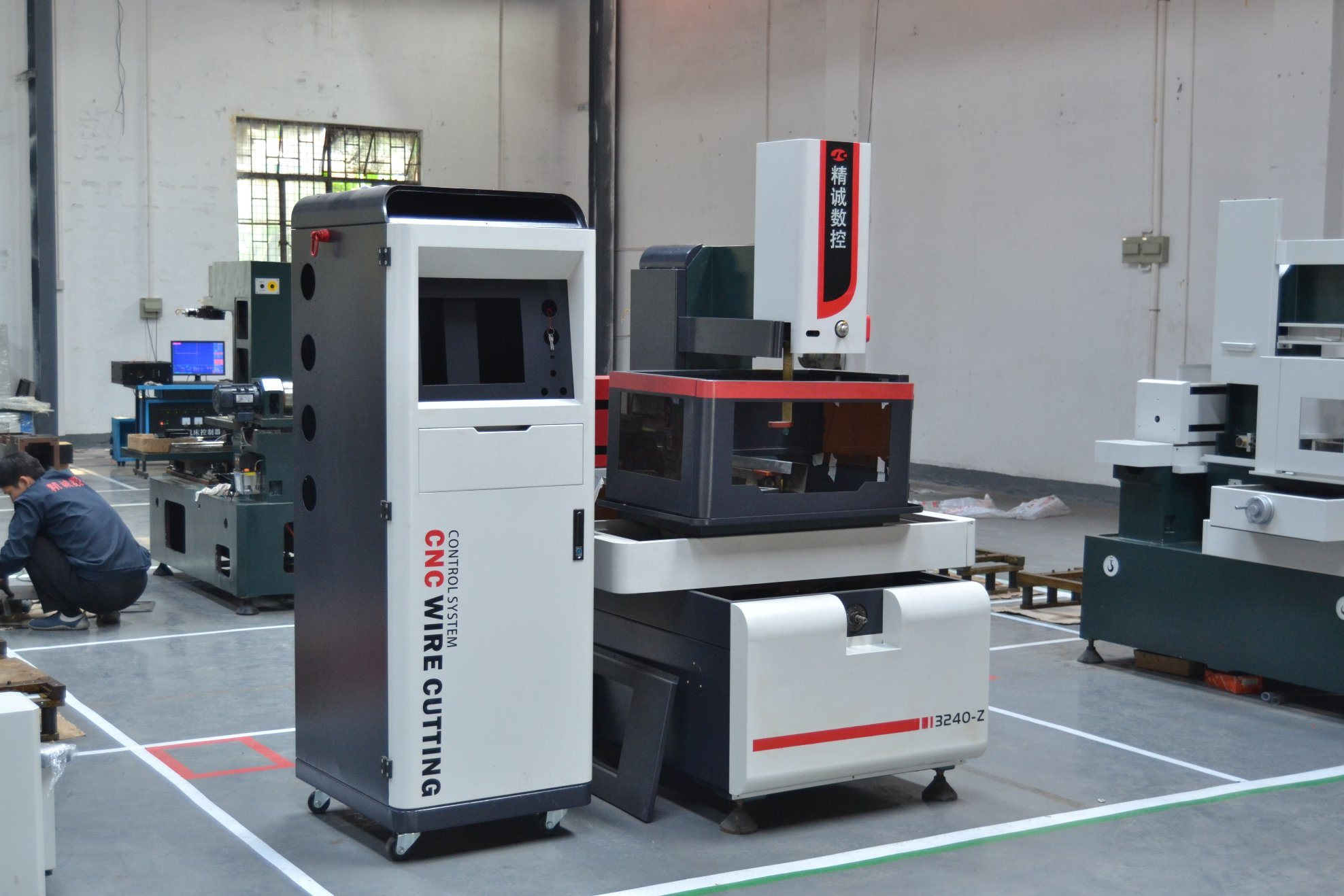 China High Precision CNC Wire EDM- C-Type Multiple Cutting Machine ...