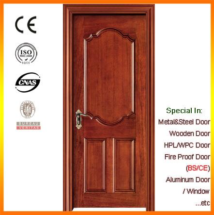 China Supply Interior Solid Wood Door Interior Room Doors Factory