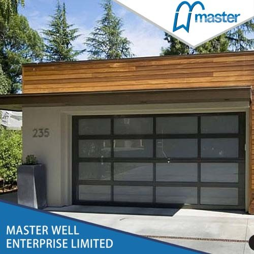 [Hot Item] Steel Security Door and Panel Aluminum Glass Garage Door Cheap  Prices