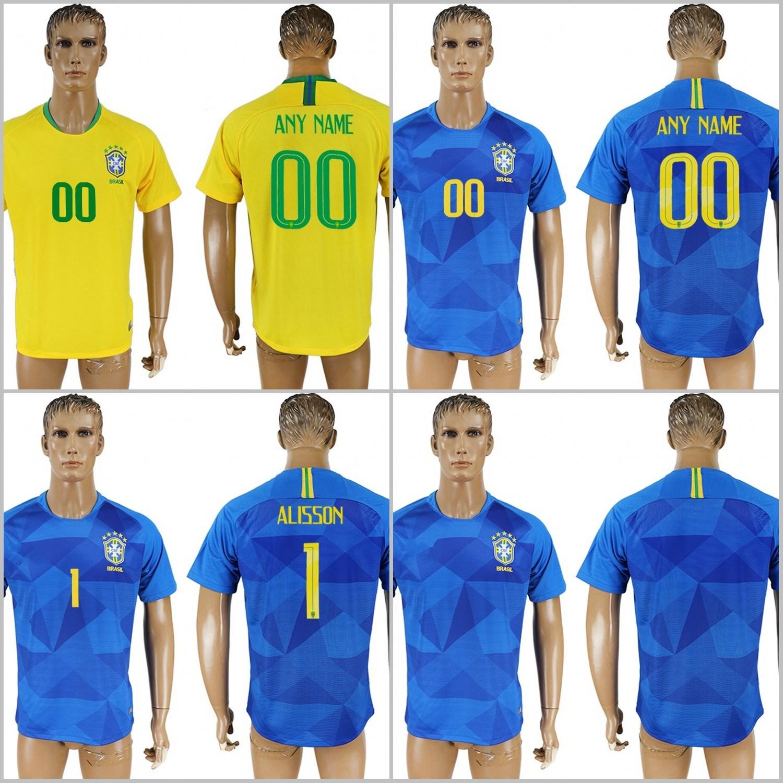 fa6f65c28 China 2018 Fifa World Cup Football Brazil National Soccer Jerseys ...