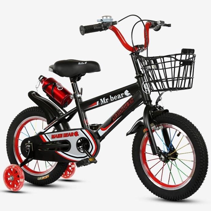 Factory 12 Inch Kids 4 Wheel Bike Carbon Steel Children Bike China