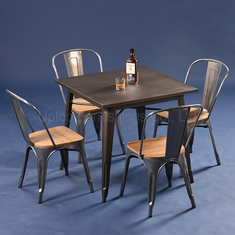 China Commercial Fine Restaurant Dining Tables And Chairs