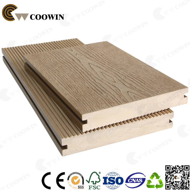 Building Material Outdoor Decorative Solid WPC Decking, Flooring WPC (TW-K03) pictures & photos