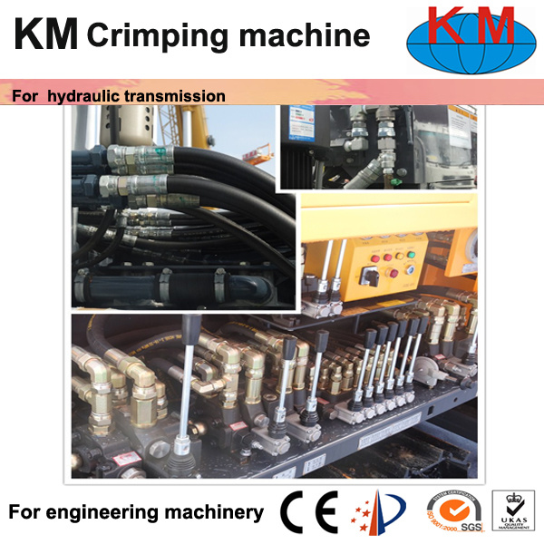 Good Price Hose Crimping Machine for India Market pictures & photos