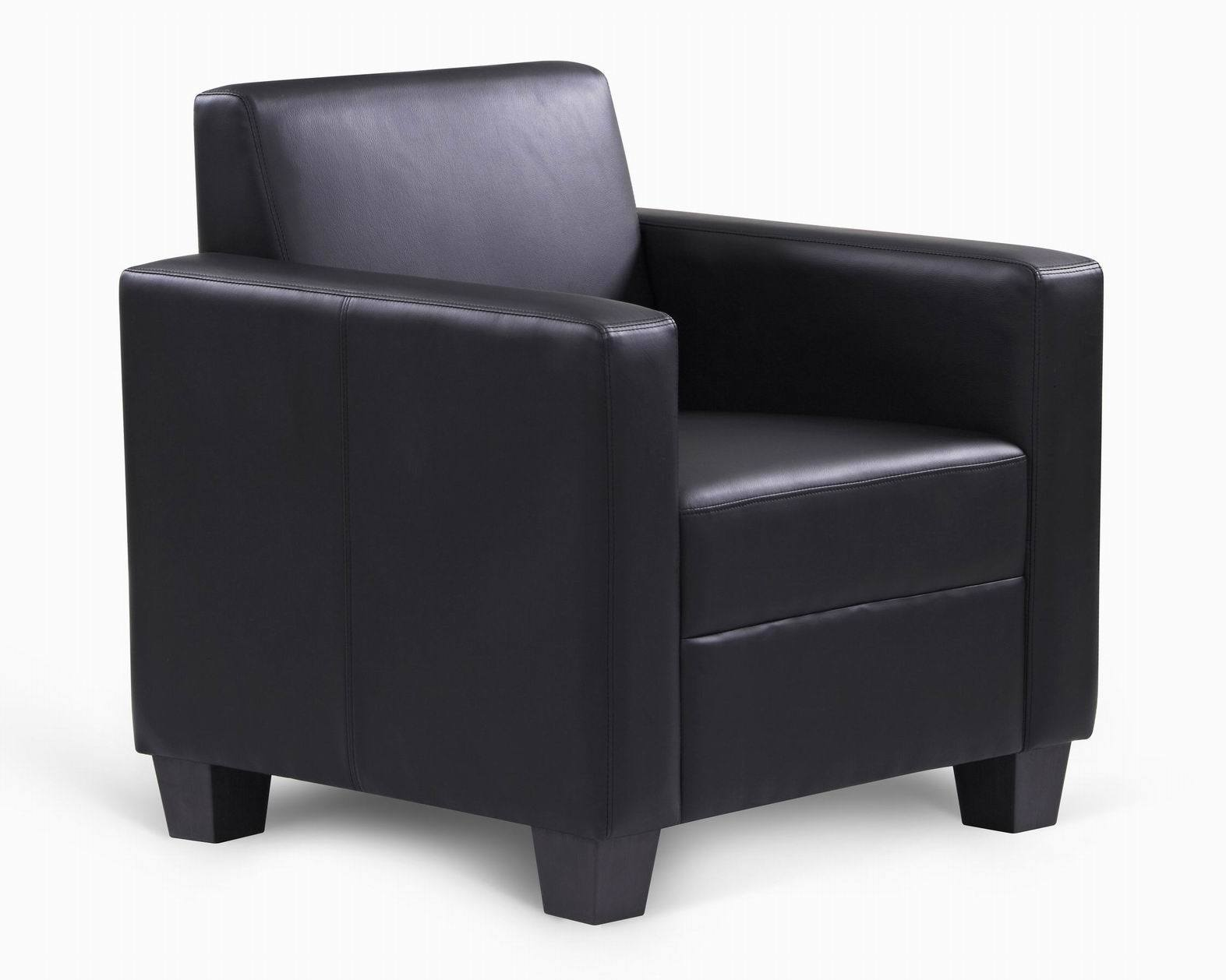 China UK/Ca117 Fire Regulations PU Leather Single Sofa Tub Accent Chair  (FS 902)   China Accent Chair, Tub Chair