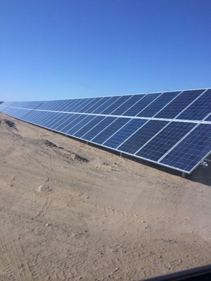 China Solar Bracket for 1MW Solar Power Plant - China Solar
