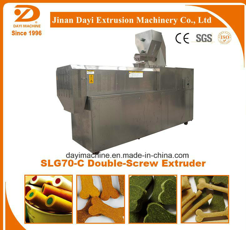 Double Screw Pellet Making Extruder/Advanced Double Screw Extruder pictures & photos