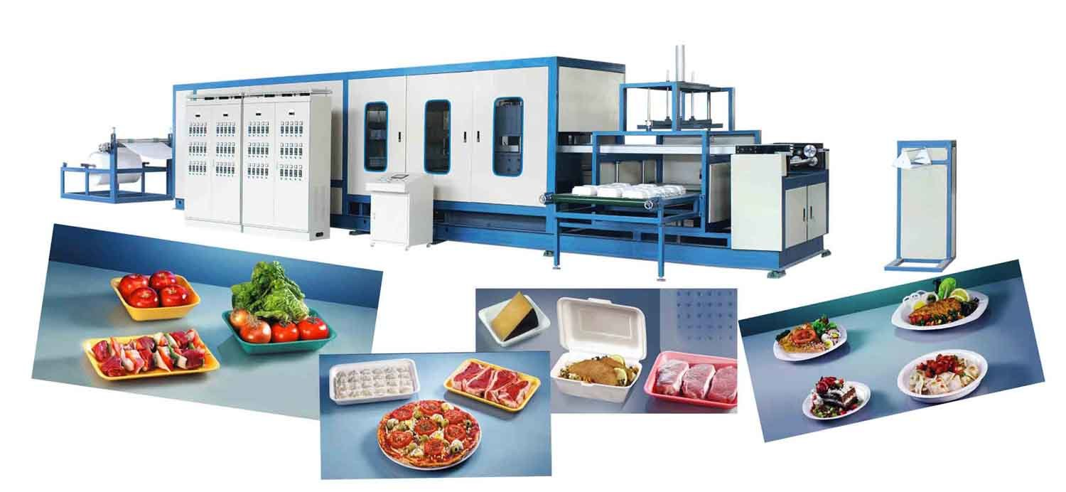 China Disposable Foam Plates Making Machine - China PS Foam Food Container Machine Fast Food Box Machine  sc 1 st  Made-in-China.com & China Disposable Foam Plates Making Machine - China PS Foam Food ...