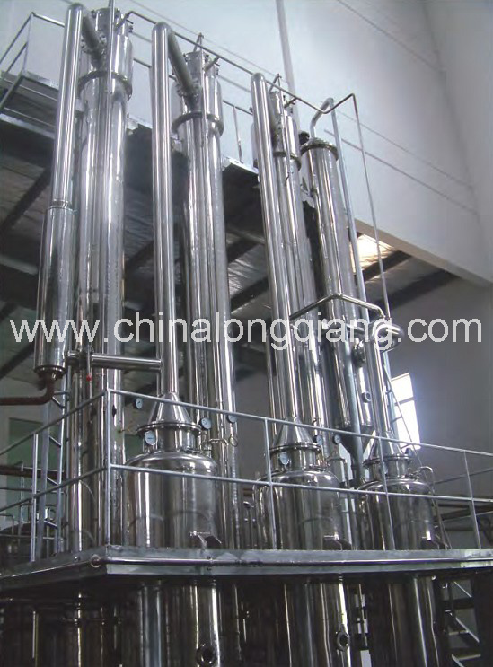 Complete Set Concentrated Fruit Juice Falling Film Evaporator