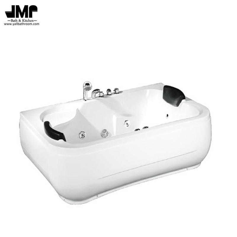 China Double Seat Bath Tub Hotel Jacuzzi Bathroom Massage Bathtub ...