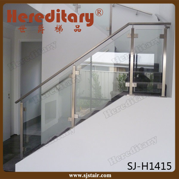 Glass Railing Designs For Stairs 2