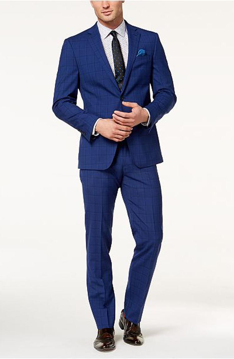 New Design Formal Suit Men Suit Business Suit Black Blazer Slim Fit