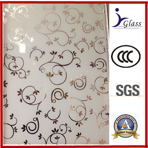 China Deep Acid Etched Glass For Doors And Windows China Deep Acid
