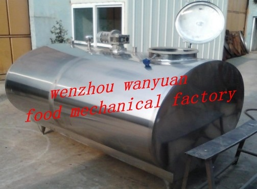 4000L Stainless Steel Milk Storage Tank
