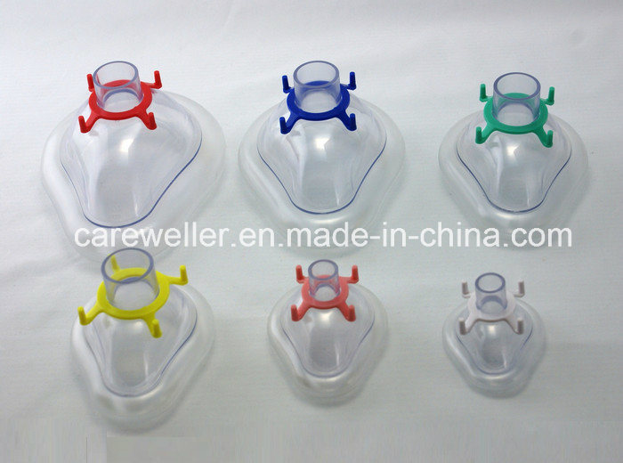 PVC Anesthesia Mask /Air Cushion Anaesthesia Face Mask pictures & photos