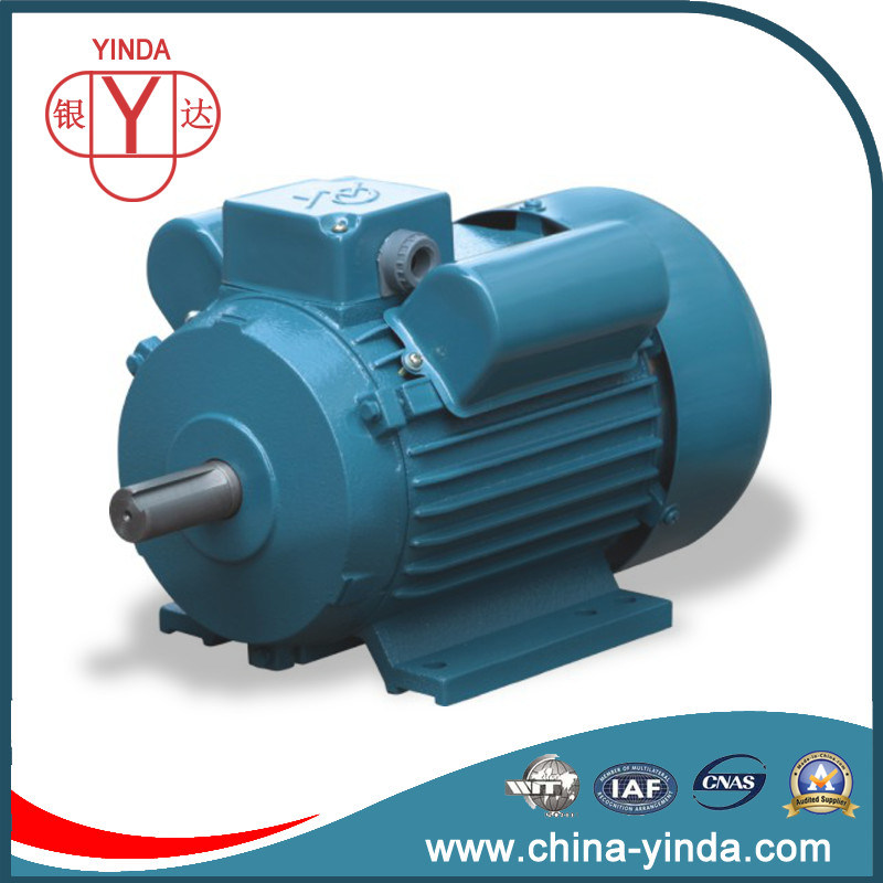 3/4 - 10HP Flange Mount Dual Capacitor Single Phase Motor