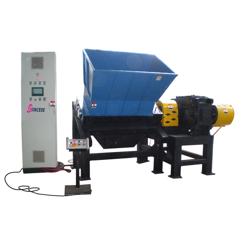 Dual Shaft Shredder for Hard Plastic