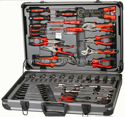 120PCS Professional Hand Tool in ABS Aluminium Case (FY120A) pictures & photos