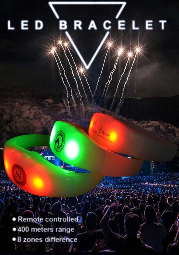 China Rfid Concert Multi Color Light