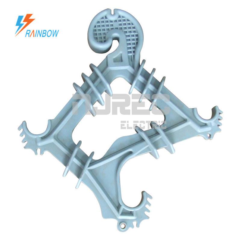 China 15kV 22kV 33kV High Density Polyethylene HDPE Cable Spacer ...