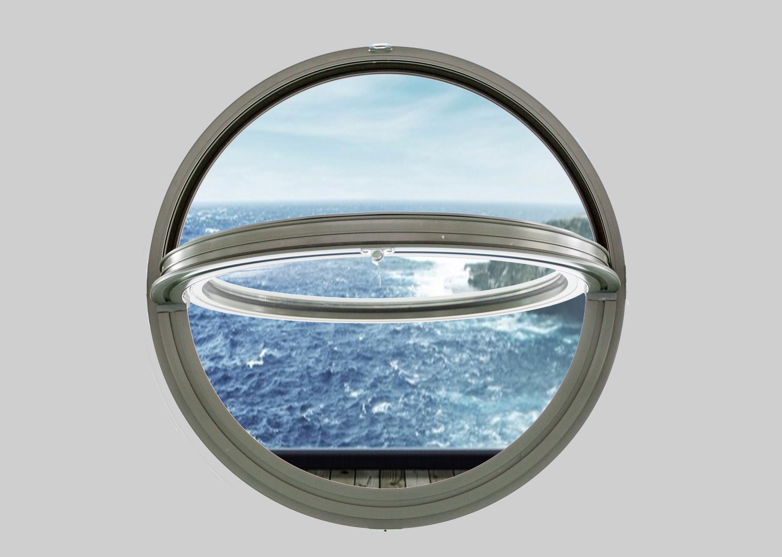 lowest price a3abb a472c [Hot Item] Double Glazing Aluminum Round Window|Aluminum Arch Window Made  in China