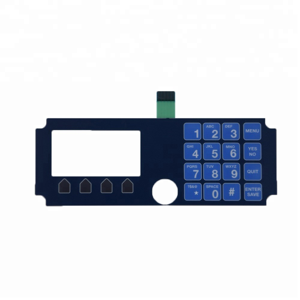 [Hot Item] 4X4 Matrix 16 Key Membrane Switch Keypad