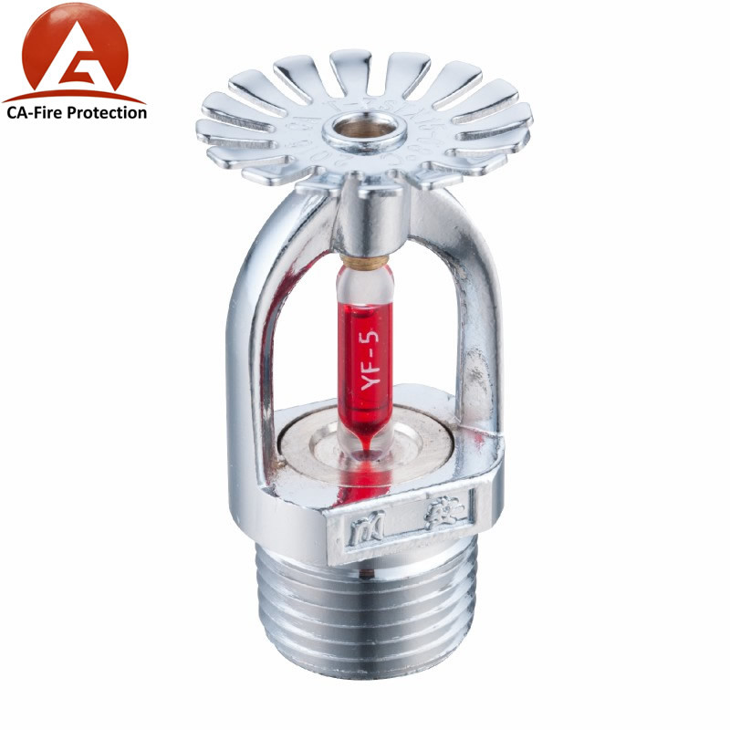 China Fire Fighting Job Glass Bulb Extended Coverage Sidewall Fire