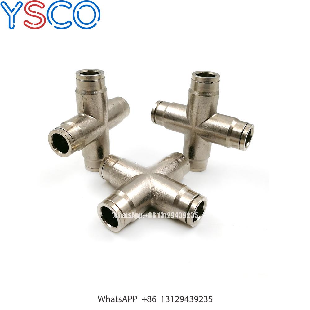 "2 Pcs 3//8/"" High Pressure Slip-lock Connector For 3//16/"" Thread Misting Nozzle"