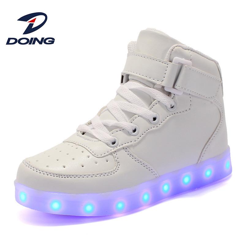 LED Casual Skateboard Shoes