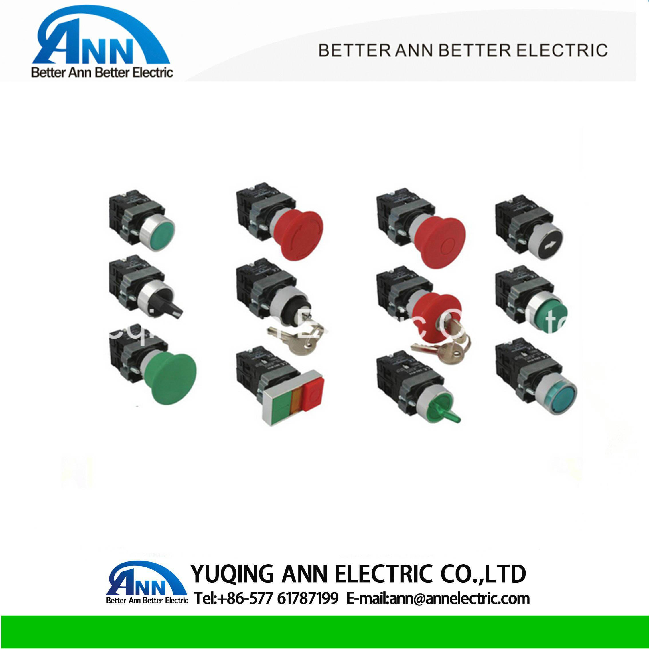 China Lay5 Xb2 Ba31 Ba45pushbutton Switch Plastic Electrical Wiring Push Button Pushbutton Swicth Flat