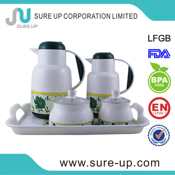 Middle East Plastic Family Suits Flask Coffee Tea Jug (JGHI)