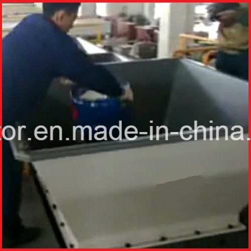 Double Axle Waste Aluminium Extrusion/Cans/Bars/Plates/Profile/Sheets Crusher pictures & photos