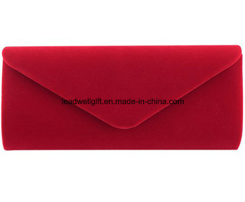 Wedding Evening Party Velvet Clutch Bag Retro Envelope Cross Body Handbag pictures & photos
