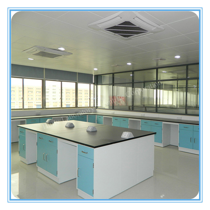 China Medical Wall Bench Side Bench Lab Bench Lab