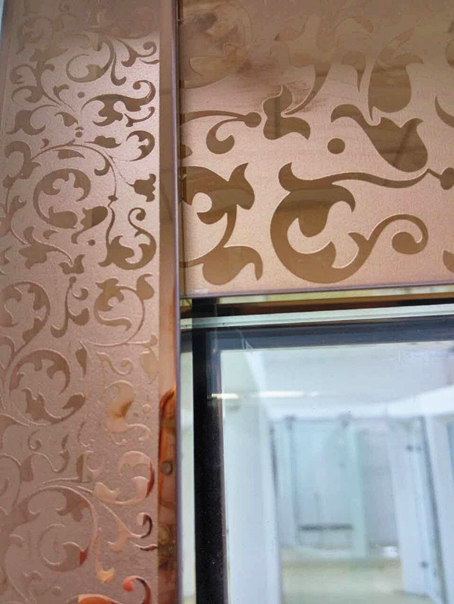 China Luxury Rose Gold Stiamless Steel Frame Shower Enclosure Screen ...