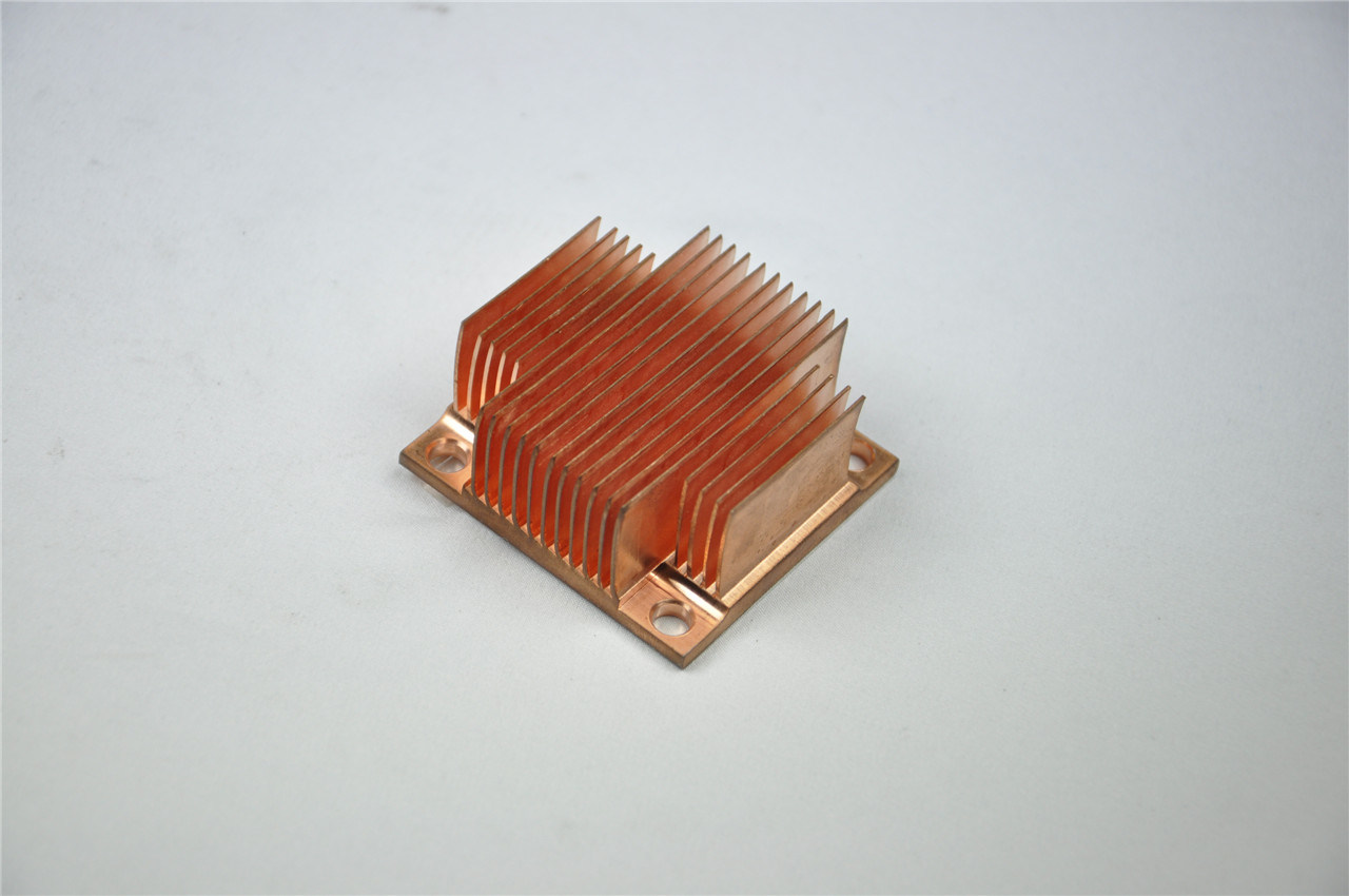 Copper Skived Fin Heatsink