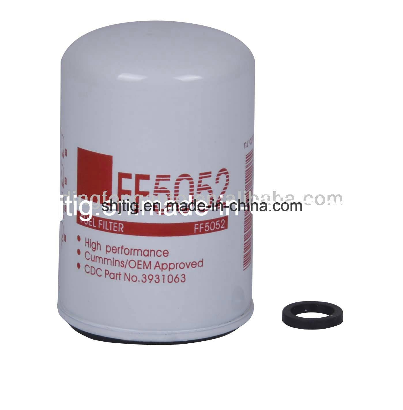 China Fleetguard Fuel Filter FF5052 for Cummins Engine - China Fuel Filter,  Oil Filter