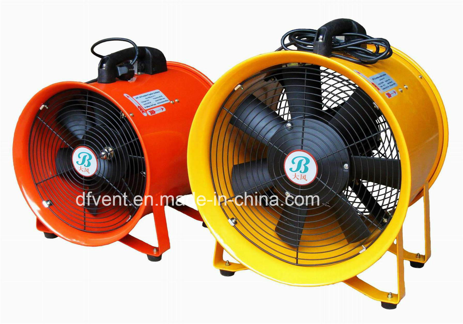 """China Electric Portable Exhaust Blower Fan 8"""" 12"""" - China ..."""