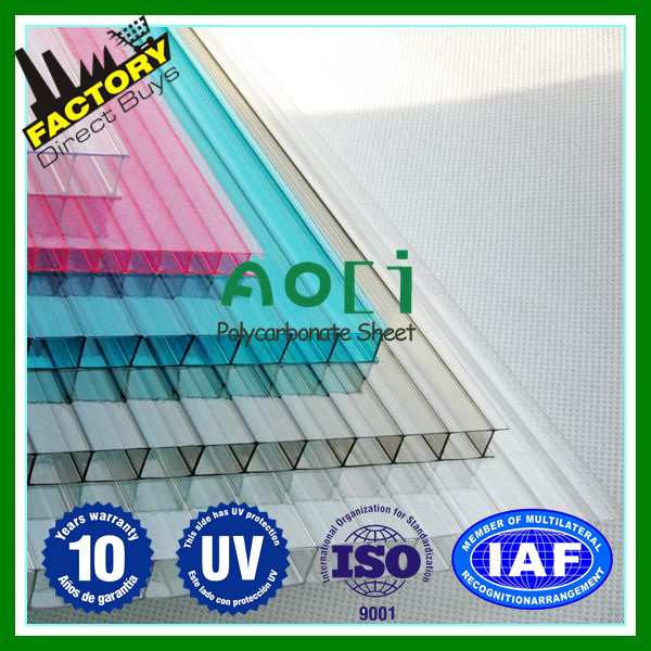 China Grey Plastic Frames with Clear Polycarbonate Sheets Freesky ...