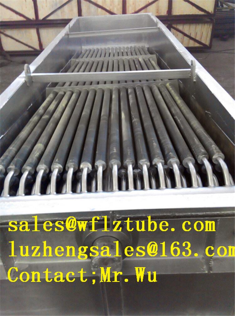 China Fin Tube Economizer, Cast Iron Boiler Economizer, Hh Fin Tube ...