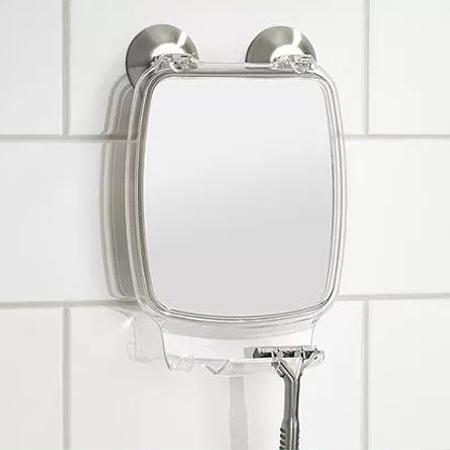 Bathroom Ful Lock Suction Mirror