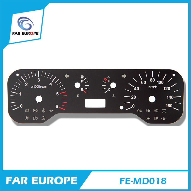 China Fe-MD018 2D Flat Auto Dashboard Gauge and 2D Digital ...