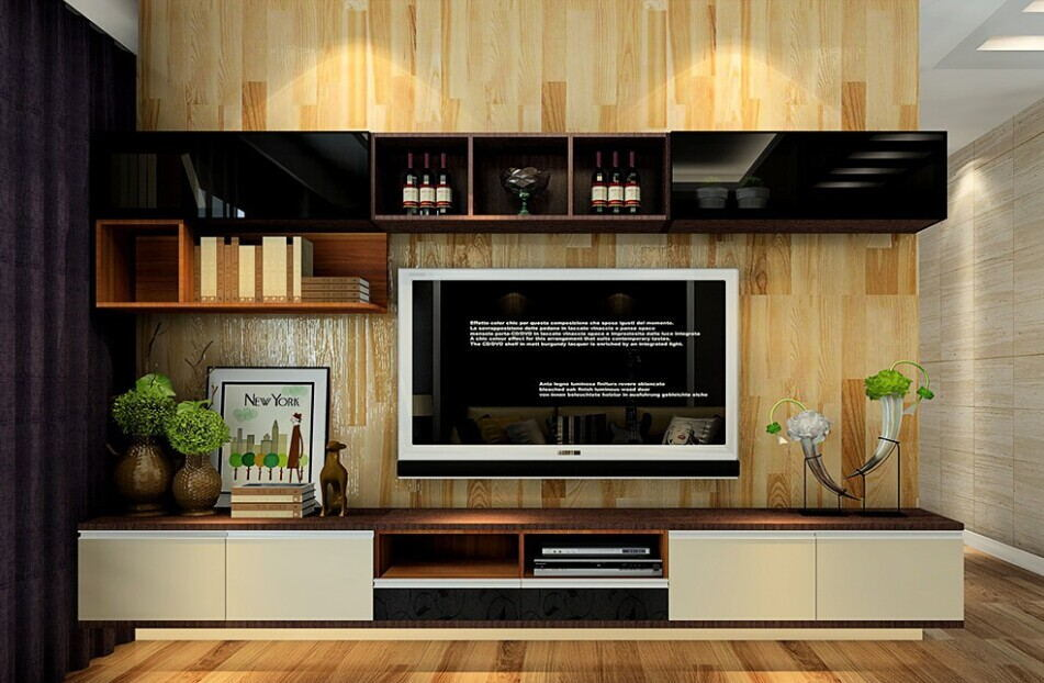 [Hot Item] Polywood TV Unit in Living Room