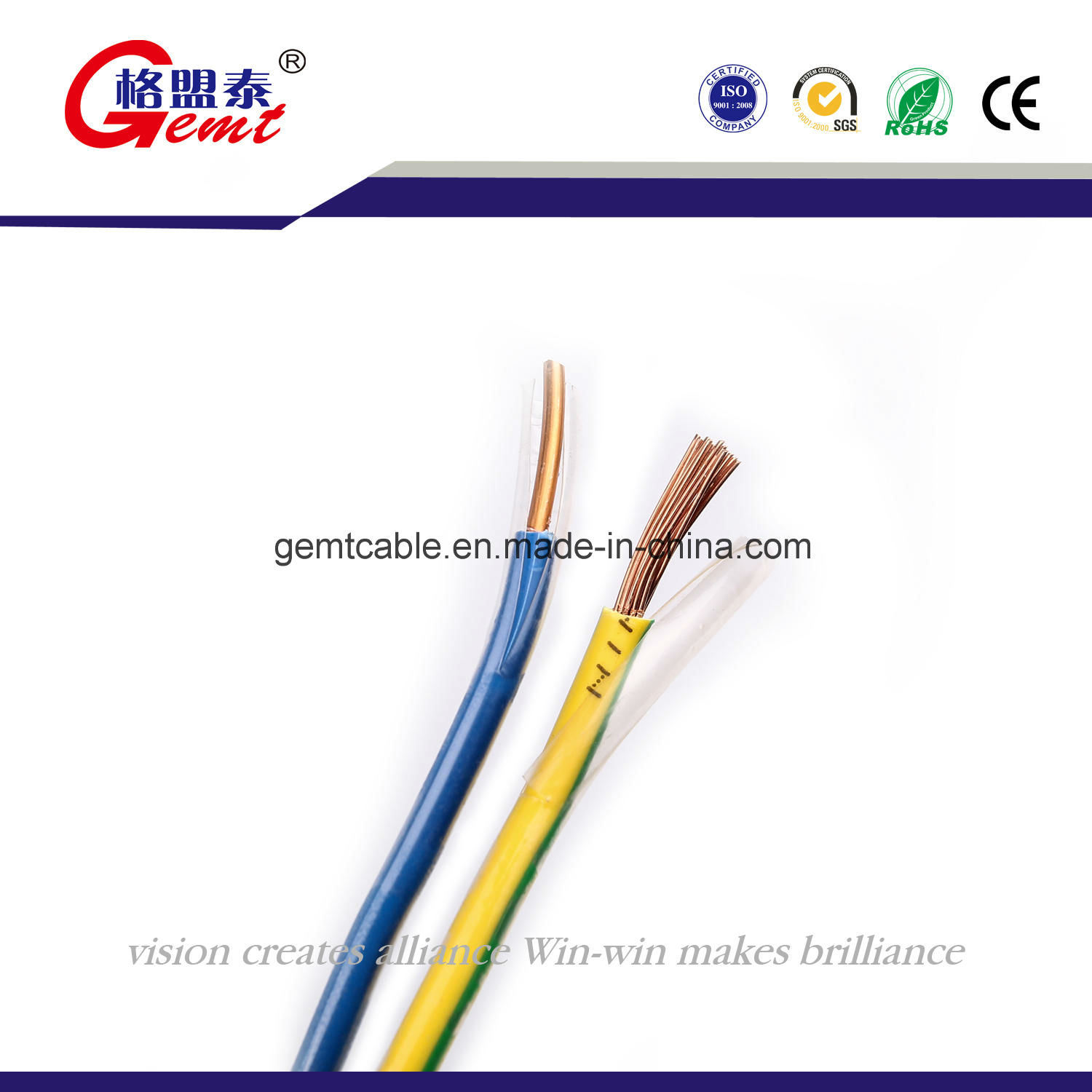 China Standard House Ground Wiring Thhn/Thwn Cable Photos & Pictures ...