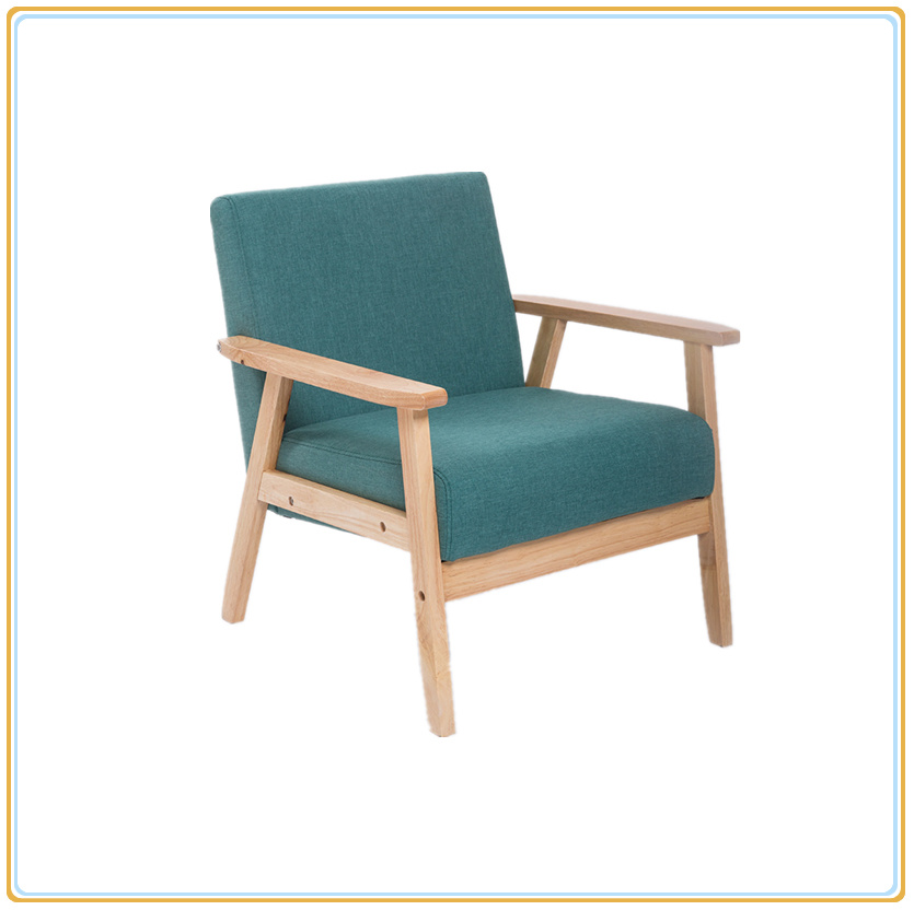 China Couch Chair Sofa Chair With Dual Wooden Support Handle Photos